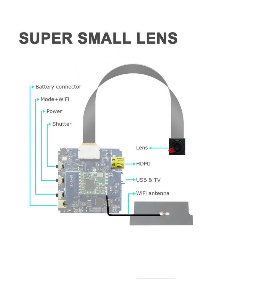 4K Mini Camera, Full 1080p HD hidden camera, WIFI Wireless (2)