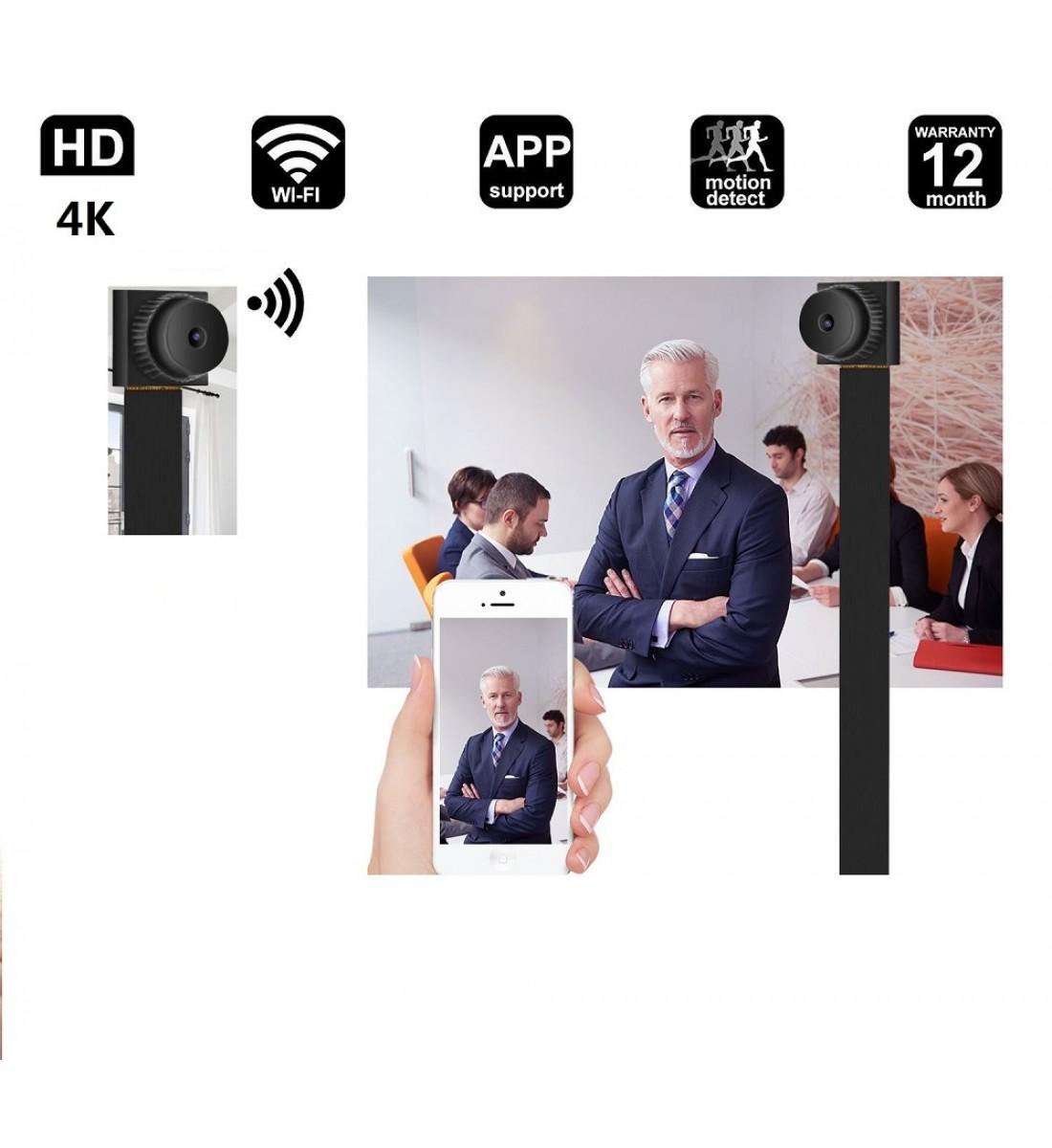 4K Mini Camera, Full 1080p HD hidden camera, WIFI Wireless (3)