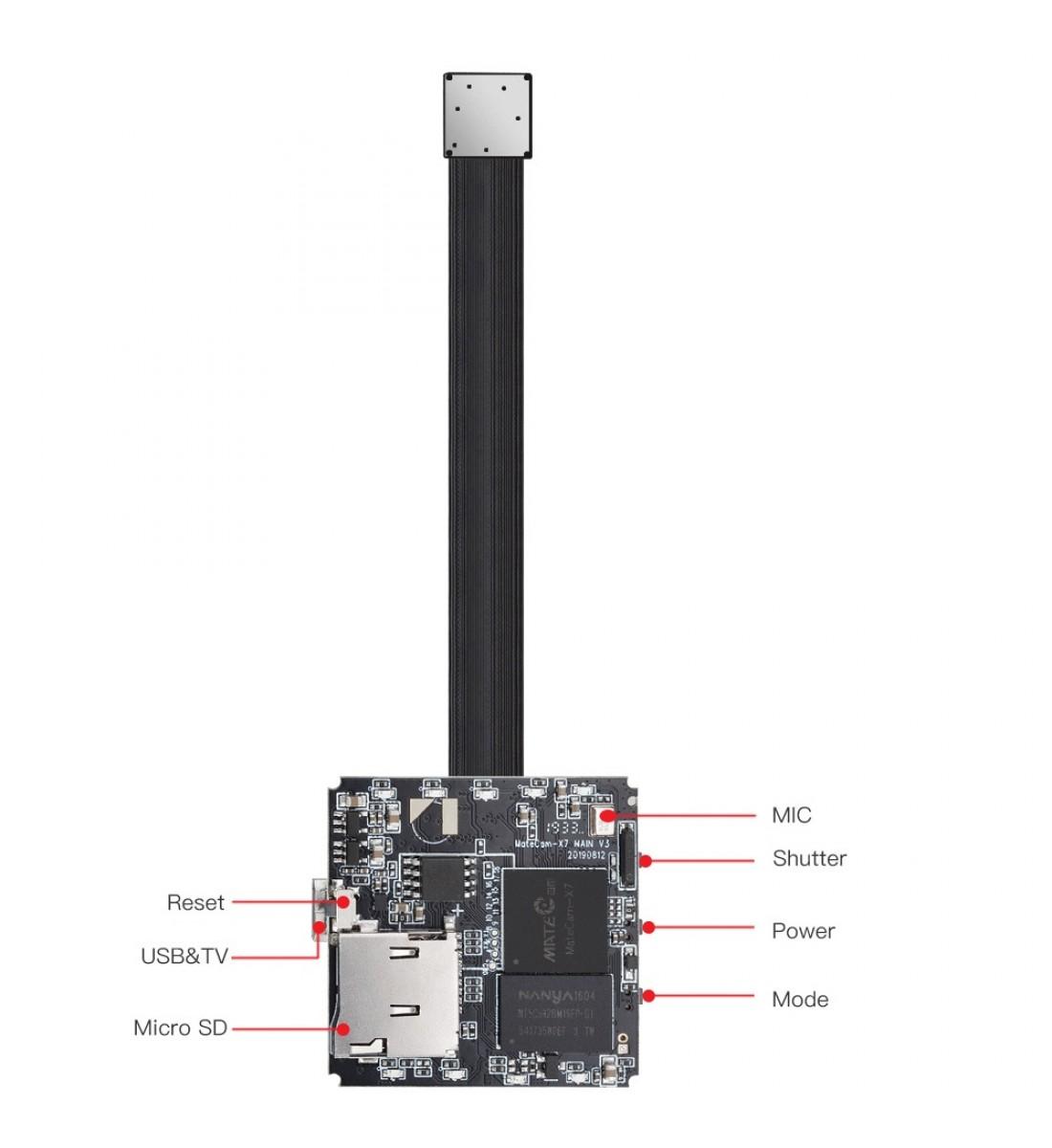 4K Ultra HD WiFi Hidden Spy Camera Mini Camera Wireless Motion Detection Nanny Cam Security System Video Camera Monitor Baby Office spy Cam App Camcorder Kid (2)