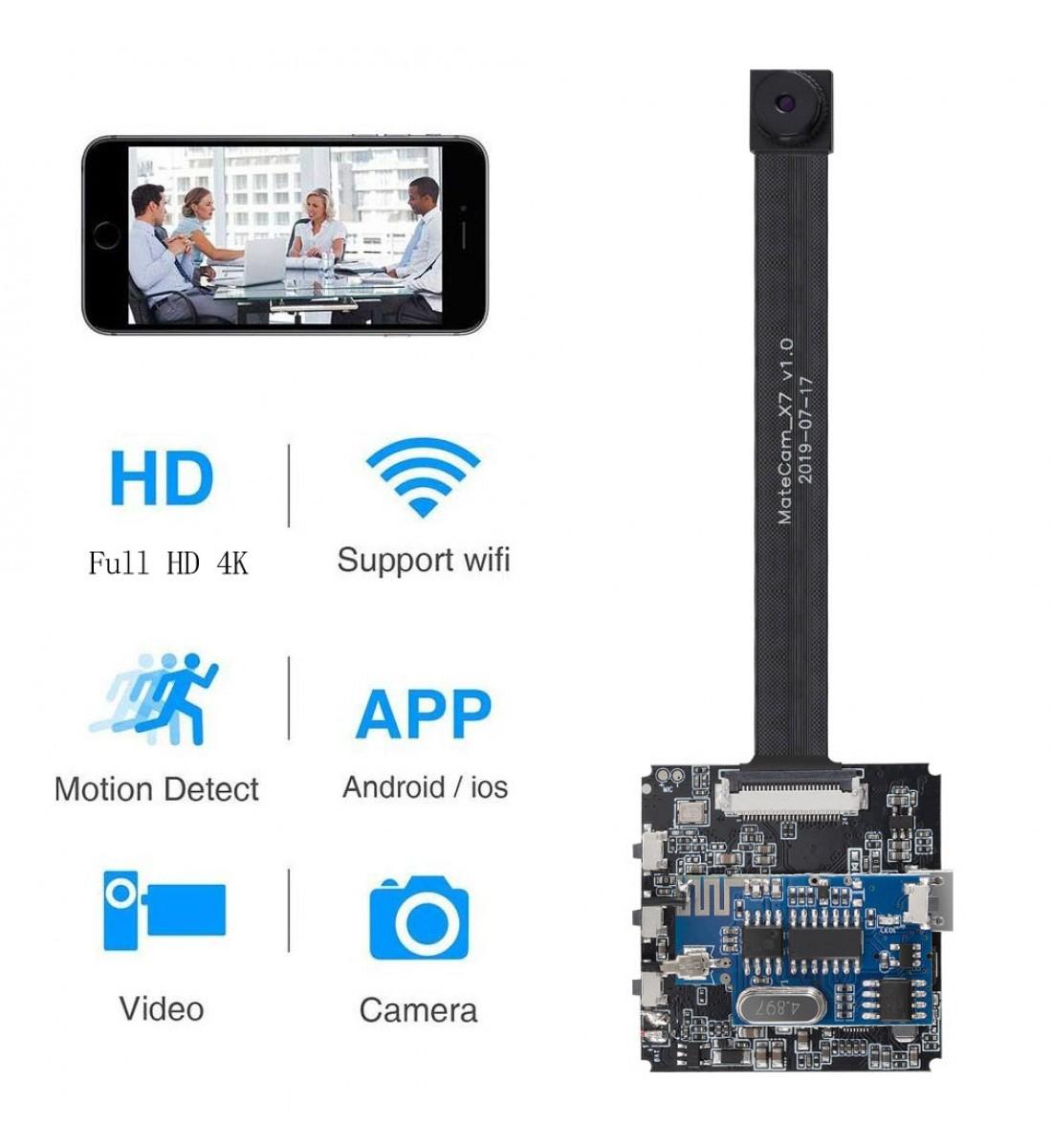 4K Ultra HD WiFi Hidden Spy Camera Upgraded Version (4)