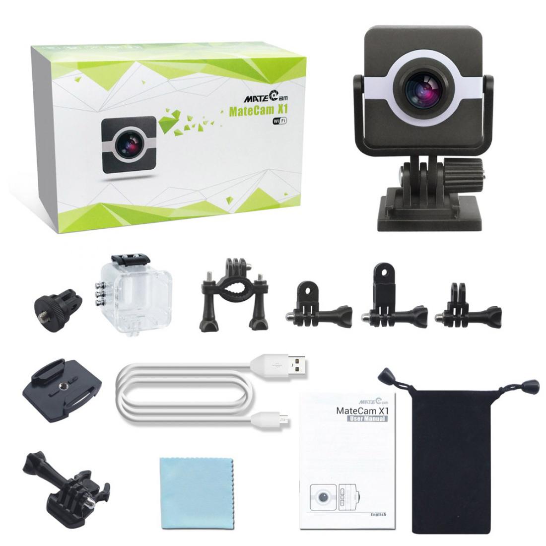 Matecam X1 4K Action Camera WIFI Sports Camera Ultra HD Waterproof Mini DV Camcorder Video Recorder Action Cam (5)