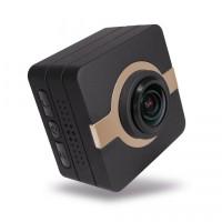 Matecam X1 Mini Action Camera Car Dashboard Camera Cam recorder 4K-HI Ultra HD Waterproof DV Camcorder 16MP 160 Degree Wide Angle WIFI/G-Sensor/Gyro Stabilization/Motion Detection/Remote control Mini DVR car keys micro RC cam Bike Helmet Cam Brown – MATECAM
