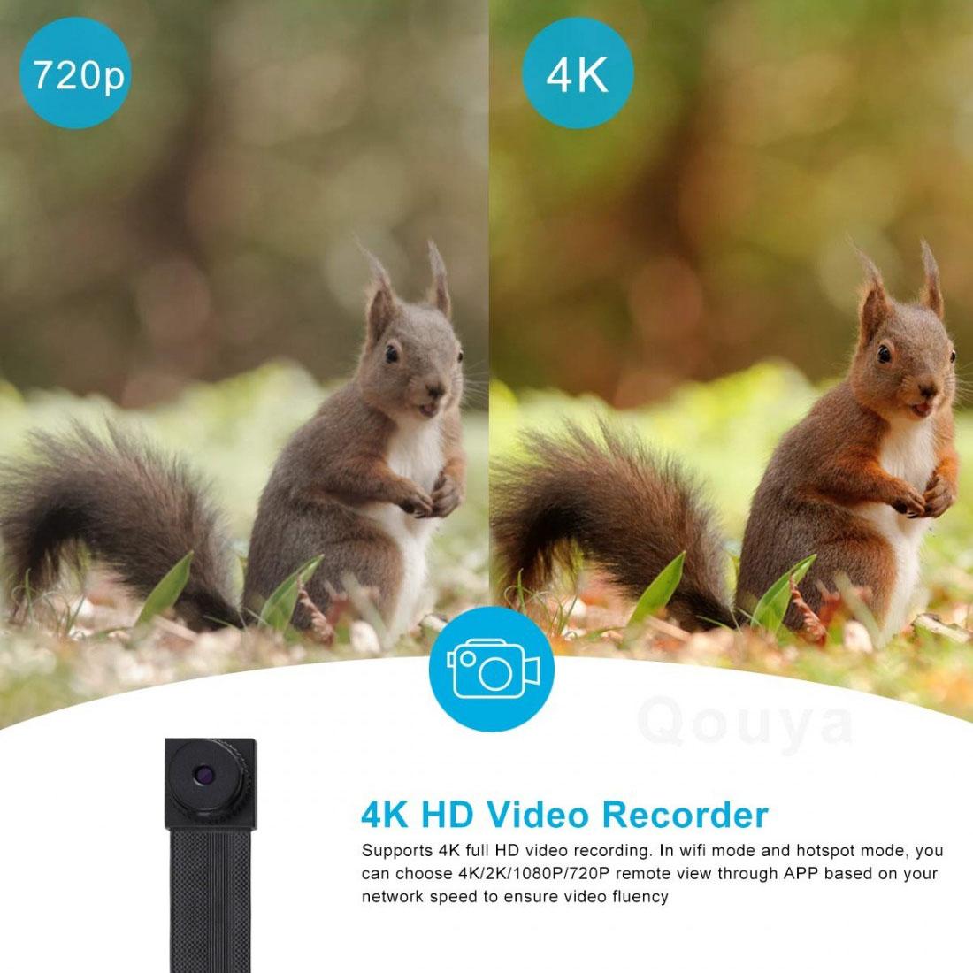 Real 4K Lens Module 120 Degree 10CM for DIY X7 Ultra 4K DIY X7 Wireless Mini Camera (4)